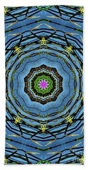 Round And Round  Hand Towel by Christy Ricafrente