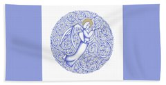 Round Angel 2018 Bath Towel