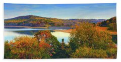 Round Valley State Park 4 Hand Towel by Raymond Salani III