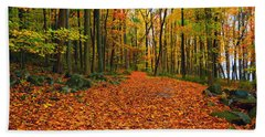 Round Valley State Park 6 Hand Towel by Raymond Salani III