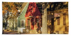 Row Houses Duke Of Gloucester Colonial Williamsburg Hand Towel