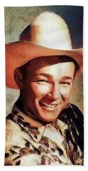 Roy Rogers, Vintage Western Star Hand Towel