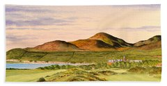 Royal County Down Golf Course Bath Towel by Bill Holkham