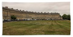 Royal Crescent In Bath Hand Towel