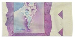 Royal Fox Hand Towel
