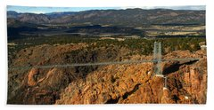 Royal Gorge Hand Towel by Anthony Jones