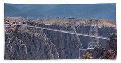 Royal Gorge Bridge Colorado Hand Towel by James BO Insogna