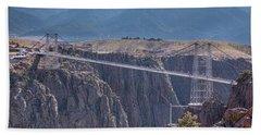 Royal Gorge Bridge Colorado Bath Towel by James BO Insogna