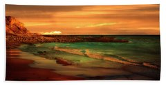 Royal Palms Beach At White Point Hand Towel
