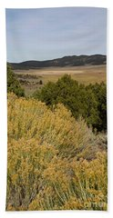 Rt 72 Utah Hand Towel by Cindy Murphy - NightVisions