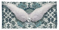 Rubino Order From Chaos Wings Hand Towel