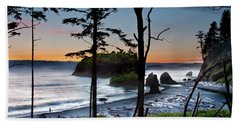 Ruby Beach #2 Hand Towel