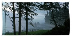 Ruby Beach II Washington State Bath Towel by Greg Reed