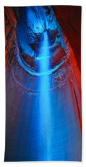 Ruby Falls Waterfall 3 Bath Towel by Mark Dodd