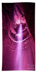 Ruby Falls Waterfall 5 Bath Towel by Mark Dodd