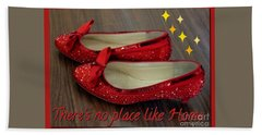 Ruby Slippers Hand Towel