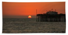 Ruby's Sunset Hand Towel