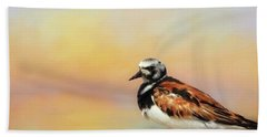 Ruddy Turnstone Hand Towel