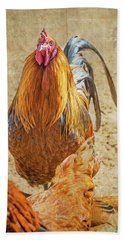Ruler Of The Roost Hand Towel