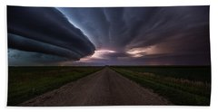 Bath Towel featuring the photograph Run by Aaron J Groen