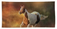 Hand Towel featuring the photograph Running Wild by Janette Boyd