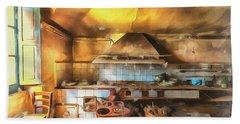 Rural Culinary Atmosphere Nr 2 - Atmosfera Culinaria Rurale IIi Paint Bath Towel