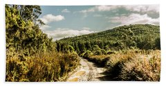 Rural Paths Out Yonder Hand Towel