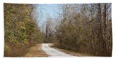 Rural Road Hand Towel