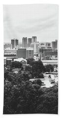 Hand Towel featuring the photograph Rural Scenes In The Magic City by Shelby Young