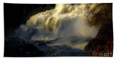 Rushing Water Bath Towel by Sherman Perry