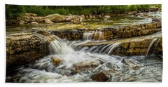Rushing Waters - Upper Provo River Bath Towel