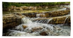 Rushing Waters - Upper Provo River Hand Towel