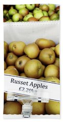 Russet Apples For Sale Hand Towel