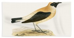 Russet Wheatear Hand Towel by English School