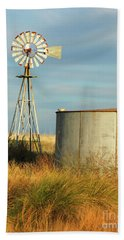 Rust Find Its Place Hand Towel