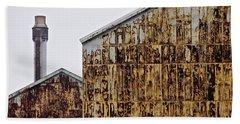 Rust Production Bath Towel by Tim Good