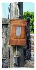 Rusted Power Hand Towel