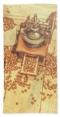 Rustic Country Coffee House Still Hand Towel