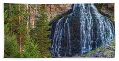 Hand Towel featuring the photograph Rustic Falls by James BO Insogna