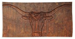 Rusty Bevo Bath Towel