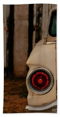 Rusty Car Hand Towel by Heather Kirk