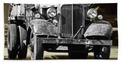 Rusty Dump  Truck Bath Towel by Ansel Price
