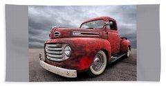 Rusty Jewel - 1948 Ford Hand Towel