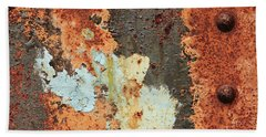 Rusty Layers Hand Towel