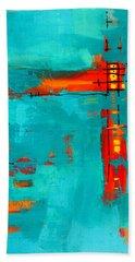 Rusty Hand Towel by Nancy Merkle