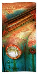 Rusty Old Ford Bath Towel