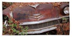 Rusty Ride Hand Towel by Patrice Zinck
