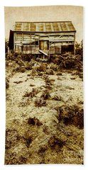 Rusty Rural Ramshackle Bath Towel