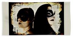 Bath Towel featuring the digital art Ryli And Corinne 1 by Mark Baranowski