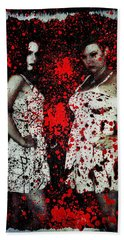 Bath Towel featuring the digital art Ryli And Corinne 2 by Mark Baranowski
